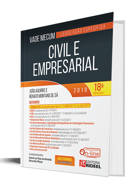 Vade Mecum Civil e Empresarial - 18ª Edição Vade Mecum Civil e Empresarial - 18 Ed.