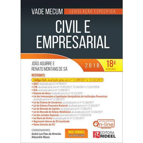 Vade Mecum Civil e Empresarial - ED 18