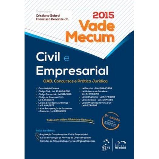 Vade Mecum Civil e Empresarial - Metodo