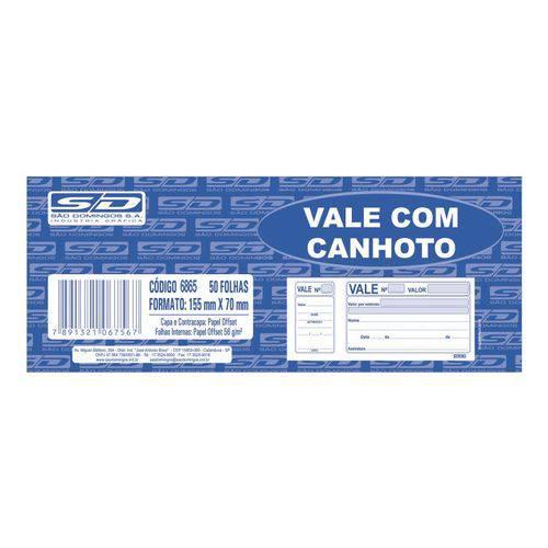 Vale com Canhoto - 100 Folhas