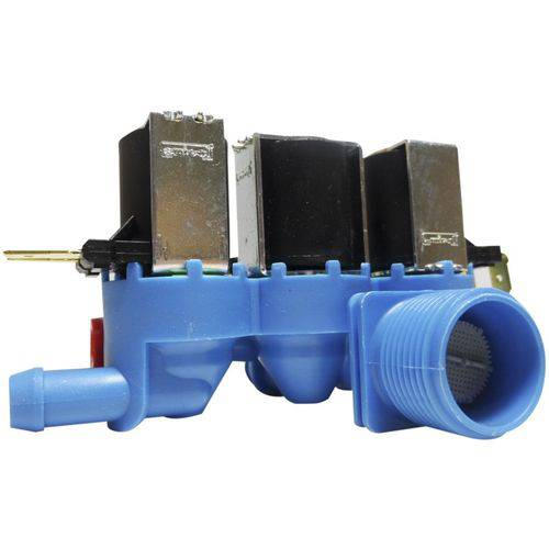 Válvula Água Tripla Lavadora Electrolux 220v 64500919