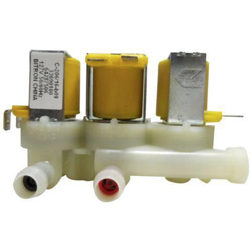Válvula Água Tripla Lavadora Electrolux 127v 64287506