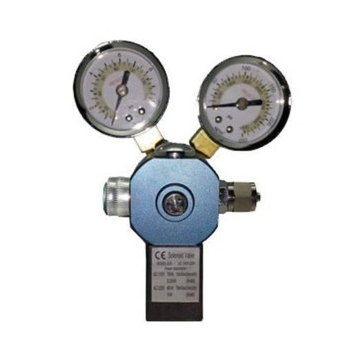 Válvula Reguladora de CO2 Dupla com Solenóide Macro-Aqua MCO-40