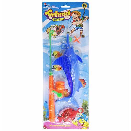 Varinha Pega Peixe com 2 Pecas Fishing Game na Cartela