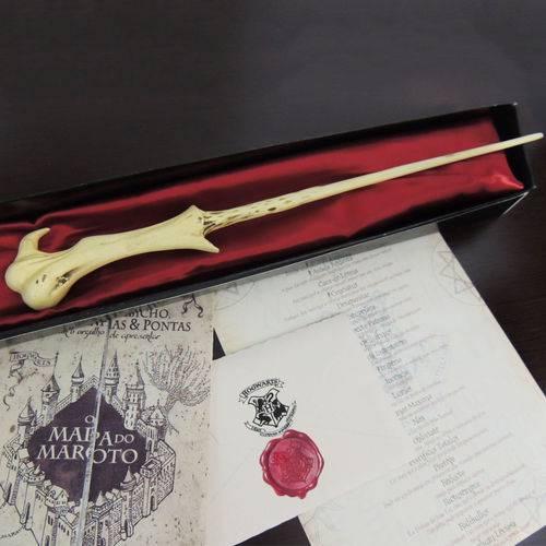 Varinha Voldemort - Carta + Mapa + Bilhete + Feitiços