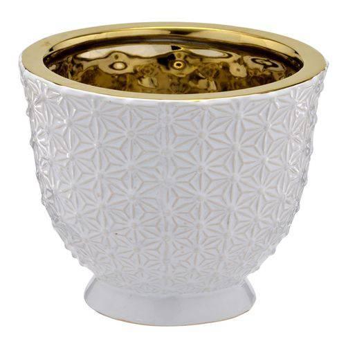 Vaso Branco Decorativo 11cm