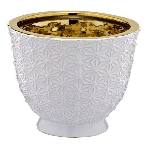 Vaso Branco Decorativo 14cm