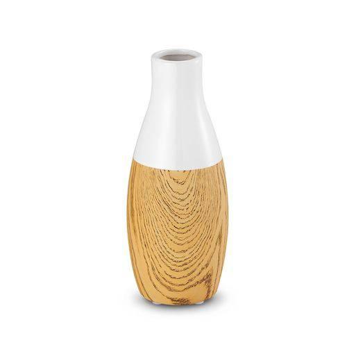 Vaso Cerâmica Branco 24,5cm