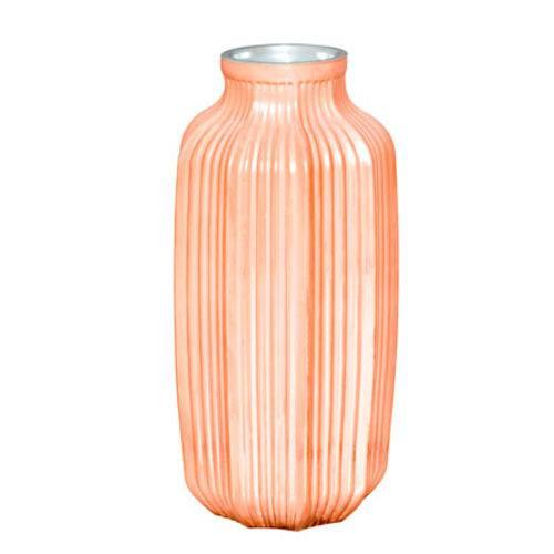 Vaso Cobre em Vidro 27 Cm