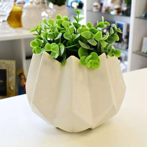 Vaso de Cerâmica Branco - 57101