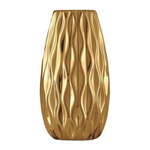 Vaso de Cerâmica Dourado Beno 5632 Mart