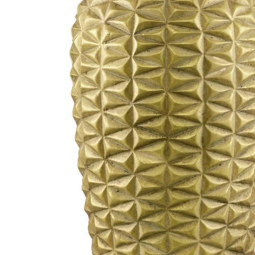 Vaso de Cerâmica Dourado Pine 6870 Mart