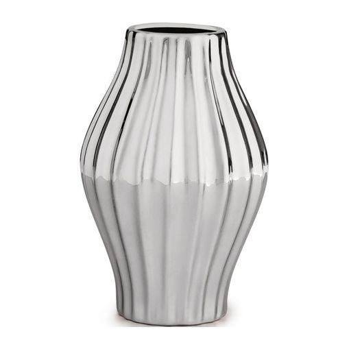 Vaso de Cerâmica Prata Eolo III 9044 Mart