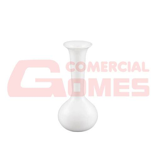 Vaso de Cerâmica Trumpet Branco
