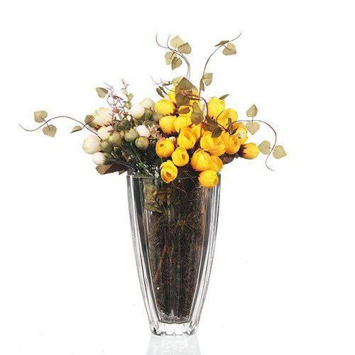 Vaso de Cristal - 13,5x22 Cm