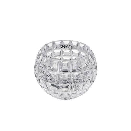 Vaso de Cristal 10 X 13 Cm Medium Rose Wolff
