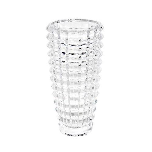 Vaso de Cristal Diamond Cut 24,5cm