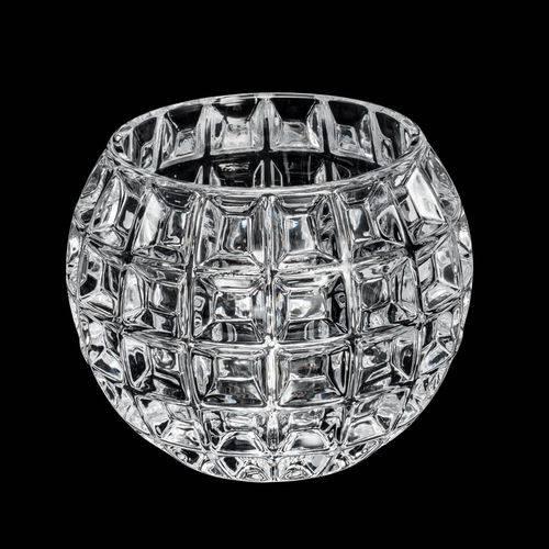 Vaso de Cristal Rose 10X9CM
