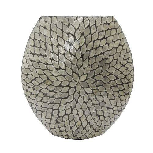 Vaso de Madrepérola Leaf