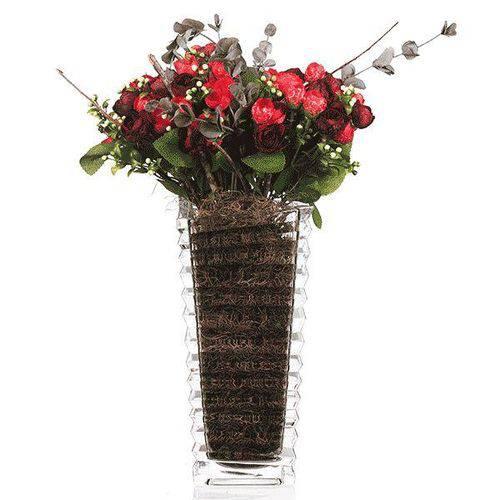 Vaso de Vidro - 12x24,5 Cm