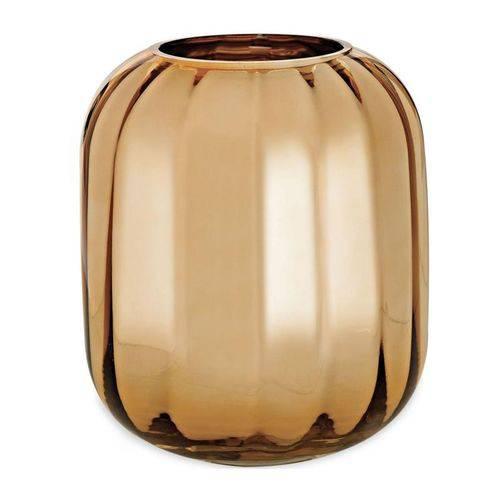 Vaso de Vidro Dourada 19,5cm Judd 9296 Mart