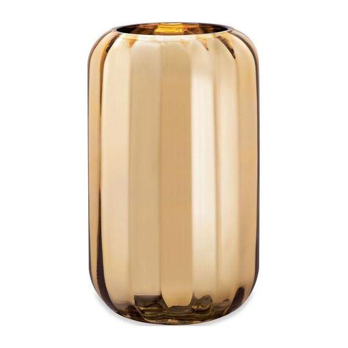 Vaso de Vidro Dourada 24,5cm Judd 9299 Mart