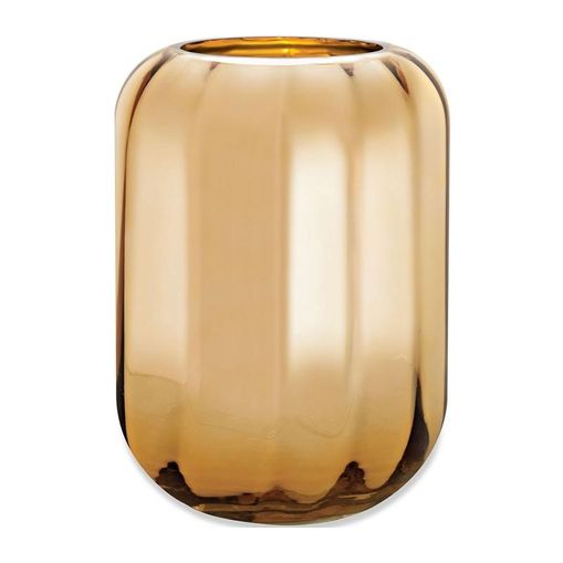 Vaso de Vidro Dourada 29,5cm Judd 9293 Mart