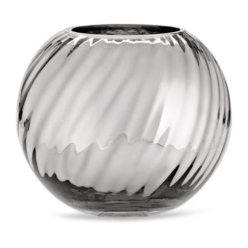 Vaso de Vidro Prata 16,5cm Leena 9304 Mart