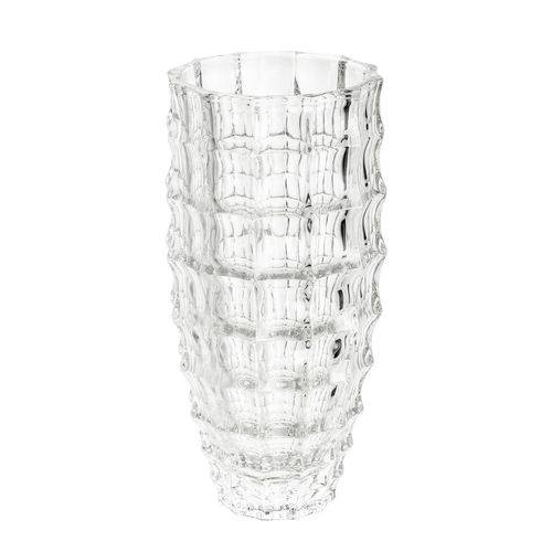 Vaso Decorativo de Cristal 13,5X28cm Mauricius Wolff