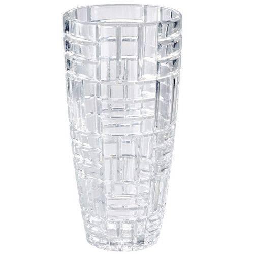 Vaso Decorativo de Cristal 25cm Ritz Lyor Classic