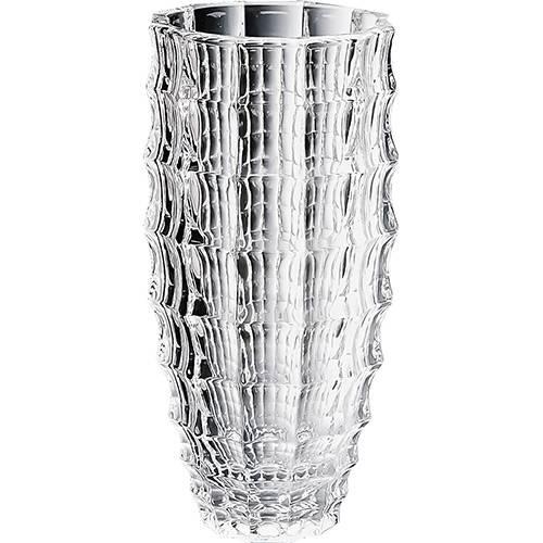 Vaso Decorativo Mauricius Bon Goumert Incolor - (28x13,5x13,5cm)
