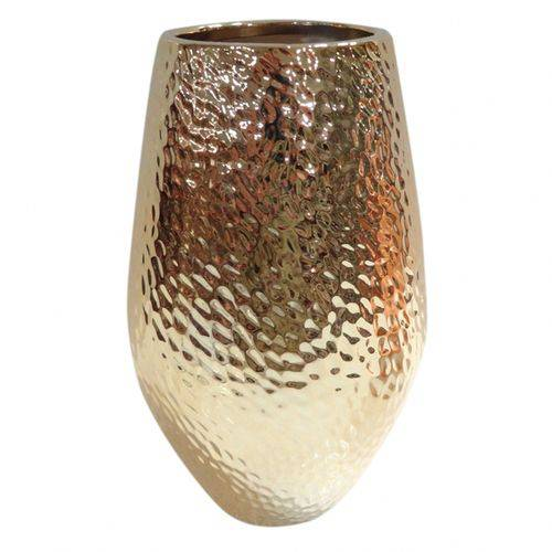 Vaso Dourado 20,5cm