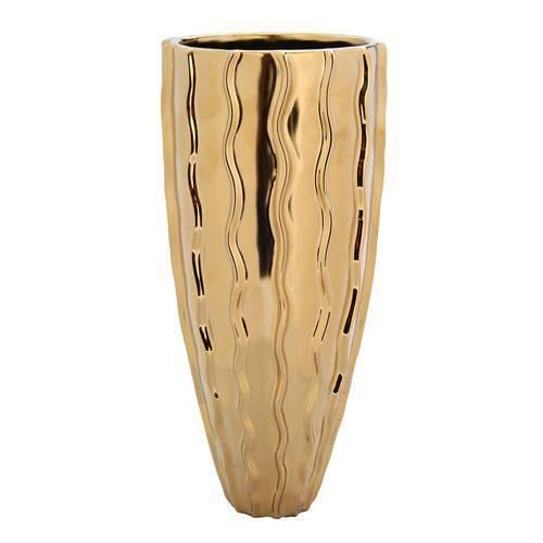 Vaso Dourado 34cm