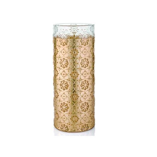 Vaso Dourado Arabesque 32cm