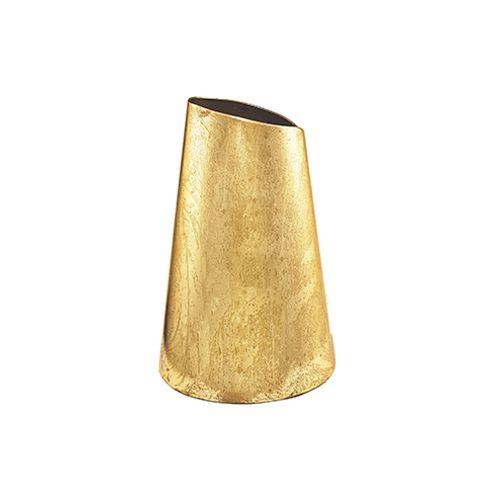 Vaso Dourado em Metal 20cm