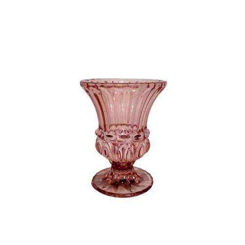 Vaso em Vidro Marsala 10,5x8cm