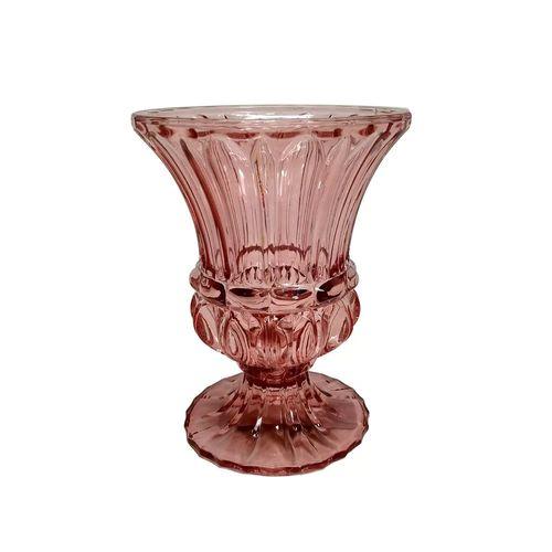 Vaso em Vidro Marsala 15cm
