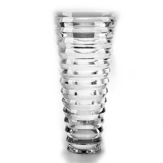 Vaso Falco de Cristal 35 Cm Bohemia