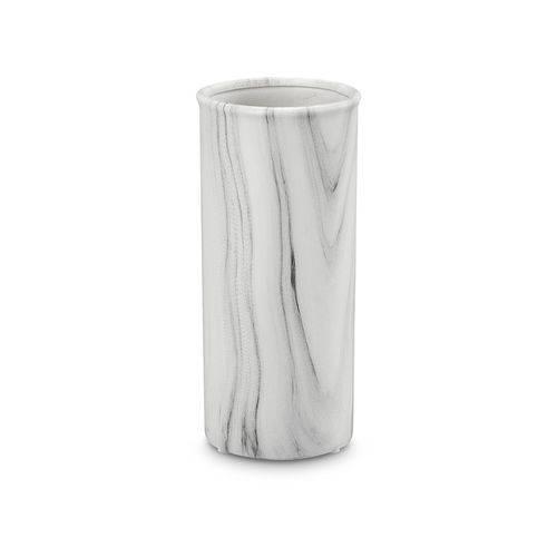 Vaso Marmorizado em Cerâmica 20cm
