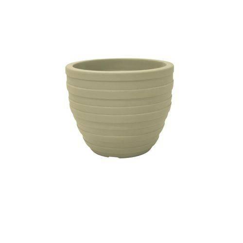 Vaso Plastico Inca 46 Cm Areia