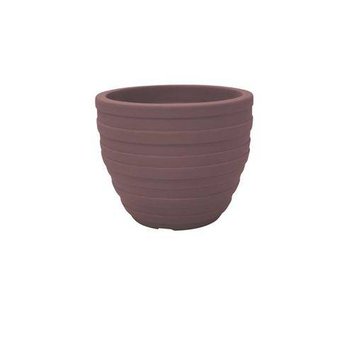 Vaso Plastico Inca 32 Cm Terracota