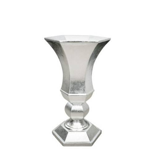 Vaso Prata 31,5x31,5x60 Cm
