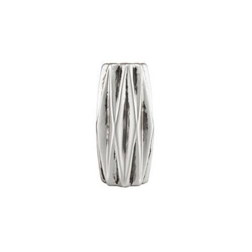 Vaso Prata em Cerâmica 13,5 Cm