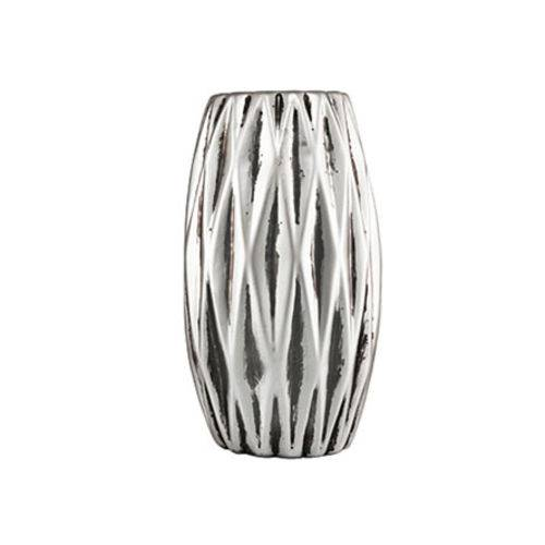 Vaso Prata em Cerâmica 15,5 Cm