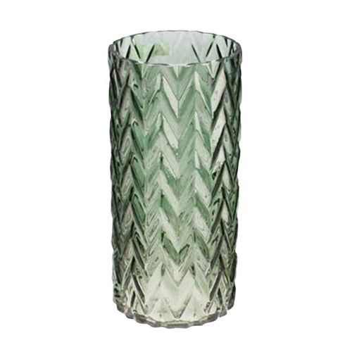 Vaso Verde Leaves 11,5x29cm