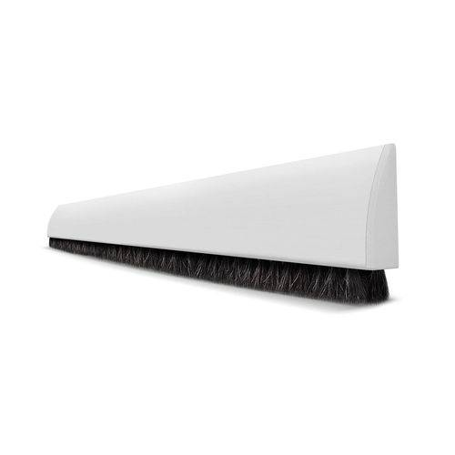 Veda Fresta de Porta Adesivo Branco - 1m