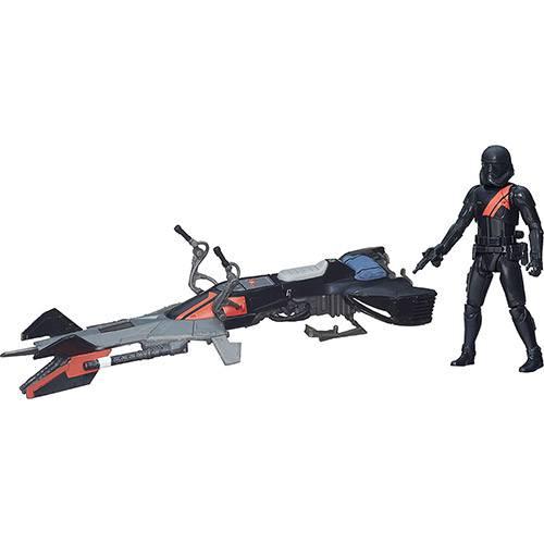Veículo Classe I Star Wars EP VII Elite Speeder Bike - Hasbro