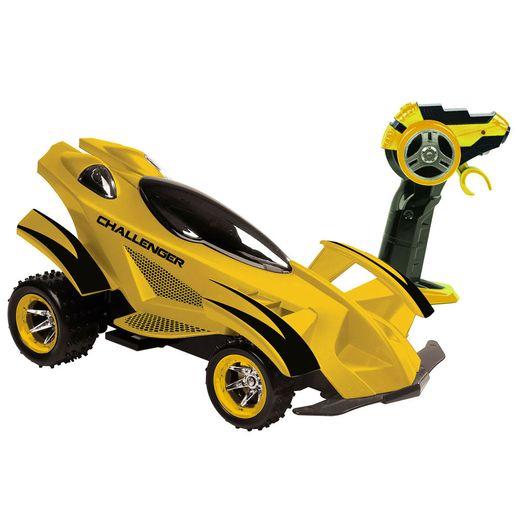 Veículo de Controle Remoto Challenger Amarelo - Candide