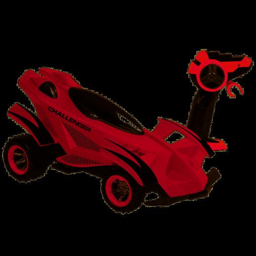 Veículo de Controle Remoto Challenger Vermelho - Candide