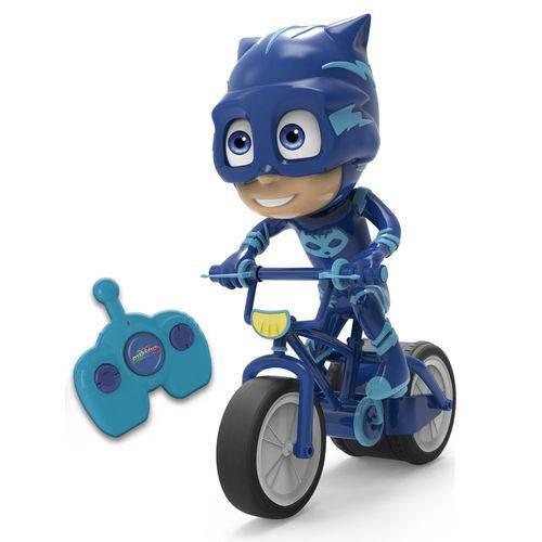 Veículo de Controle Remoto - PJ Masks - Bike Menino Gato - Candide